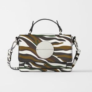 Zara Bags - Zara Multicolor Mini Crossbody Bag